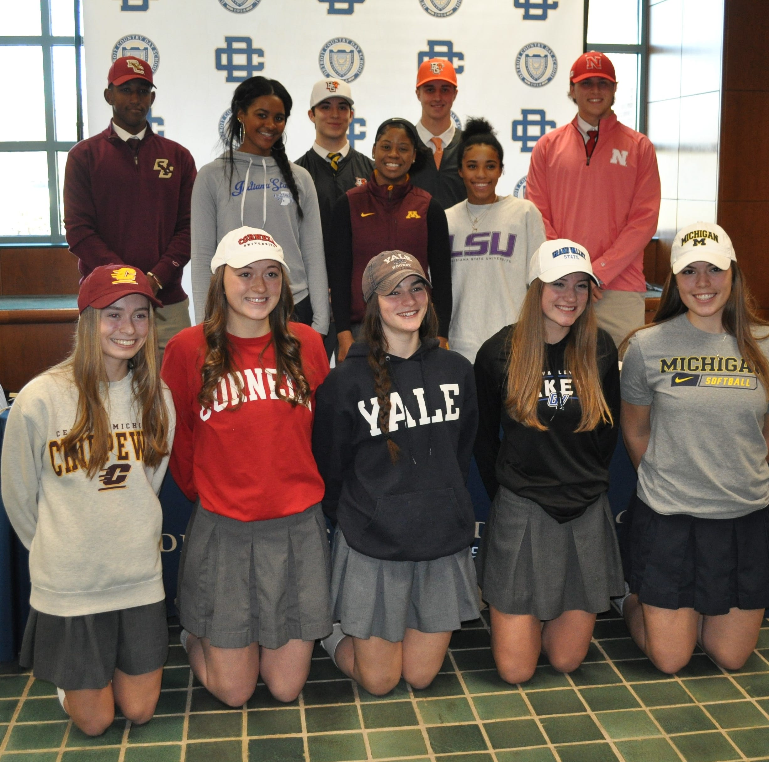 Harrison, SL East, Bloomfield area student-athletes announce their college intentions