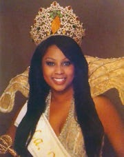 Imani Guillory, Queen of the 2009 Yambilee Festival.