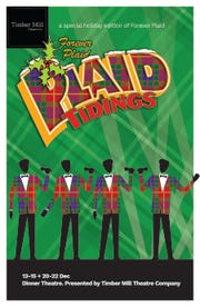 "Timber Mill Theatre presents ""Forever Plaid: Plaid Tidings"" on Dec. 13-15 and 20-22 at The Howard in Oshkosh."