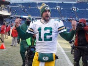 "Green Bay Packers quarterback Aaron Rodgers says he's ""excited about what's going on in Green Bay and the future there."""