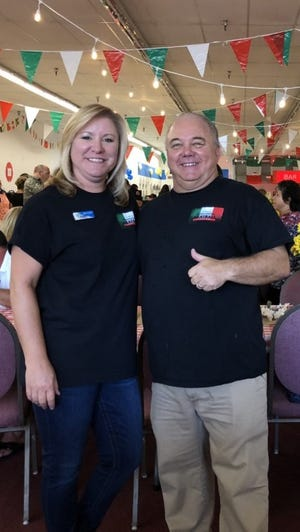 Boys and Girls Club of Cathedral City board member Julie Frazier and director  Scott Robinson