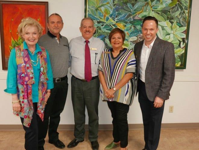Patty Newman, Steve Tobin, Jack Newby. Aurora Wilson and Paul Clowers