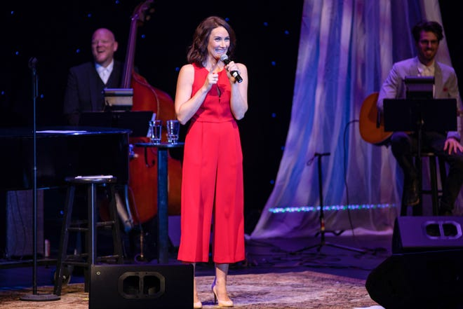 """An """"Evening with Laura Benanti"""" hit all the high notes for the Annenberg Theater's 16thAnnual Benefit."""