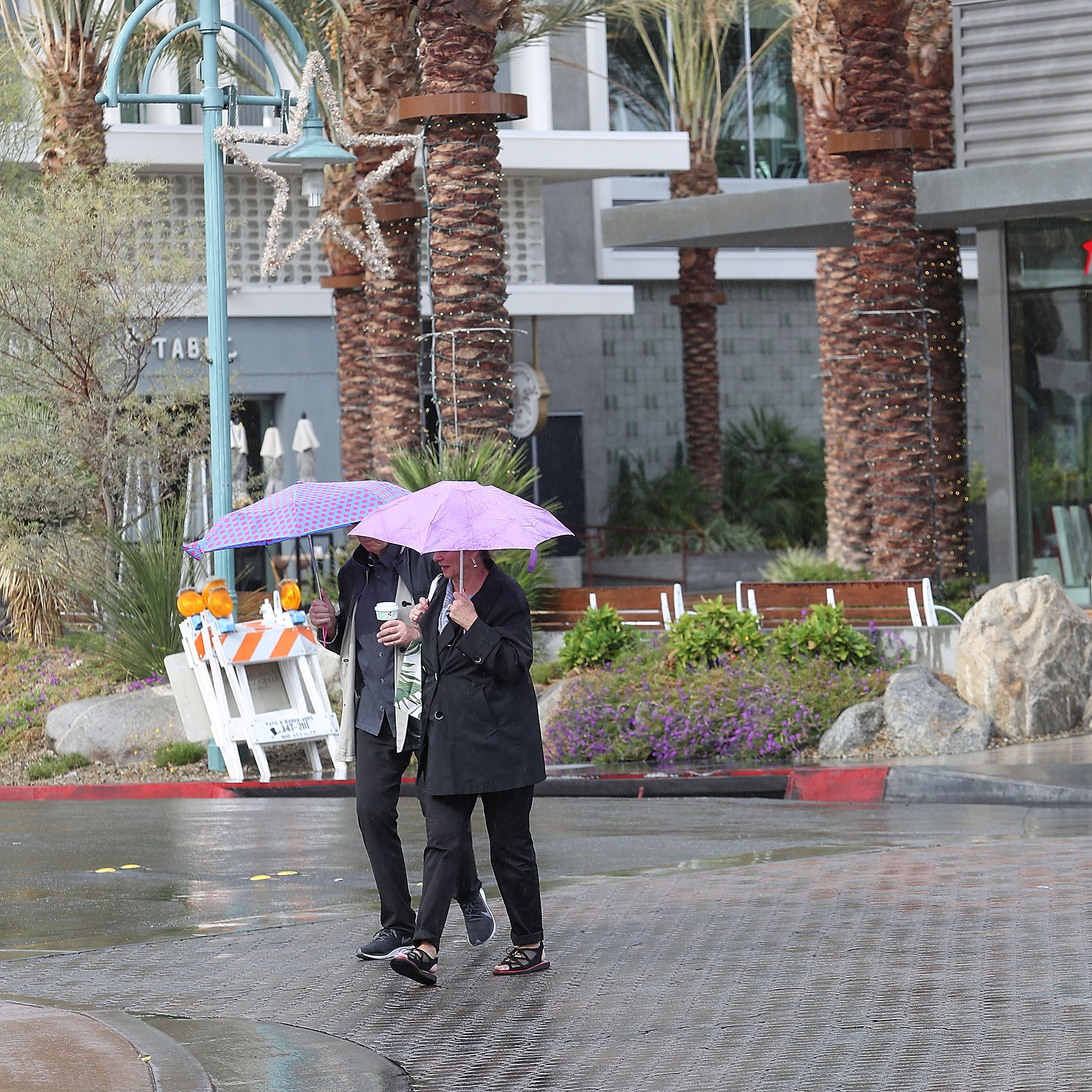VillageFest canceled due to Palm Springs rain; experts warn of flooding in wildfire burn area