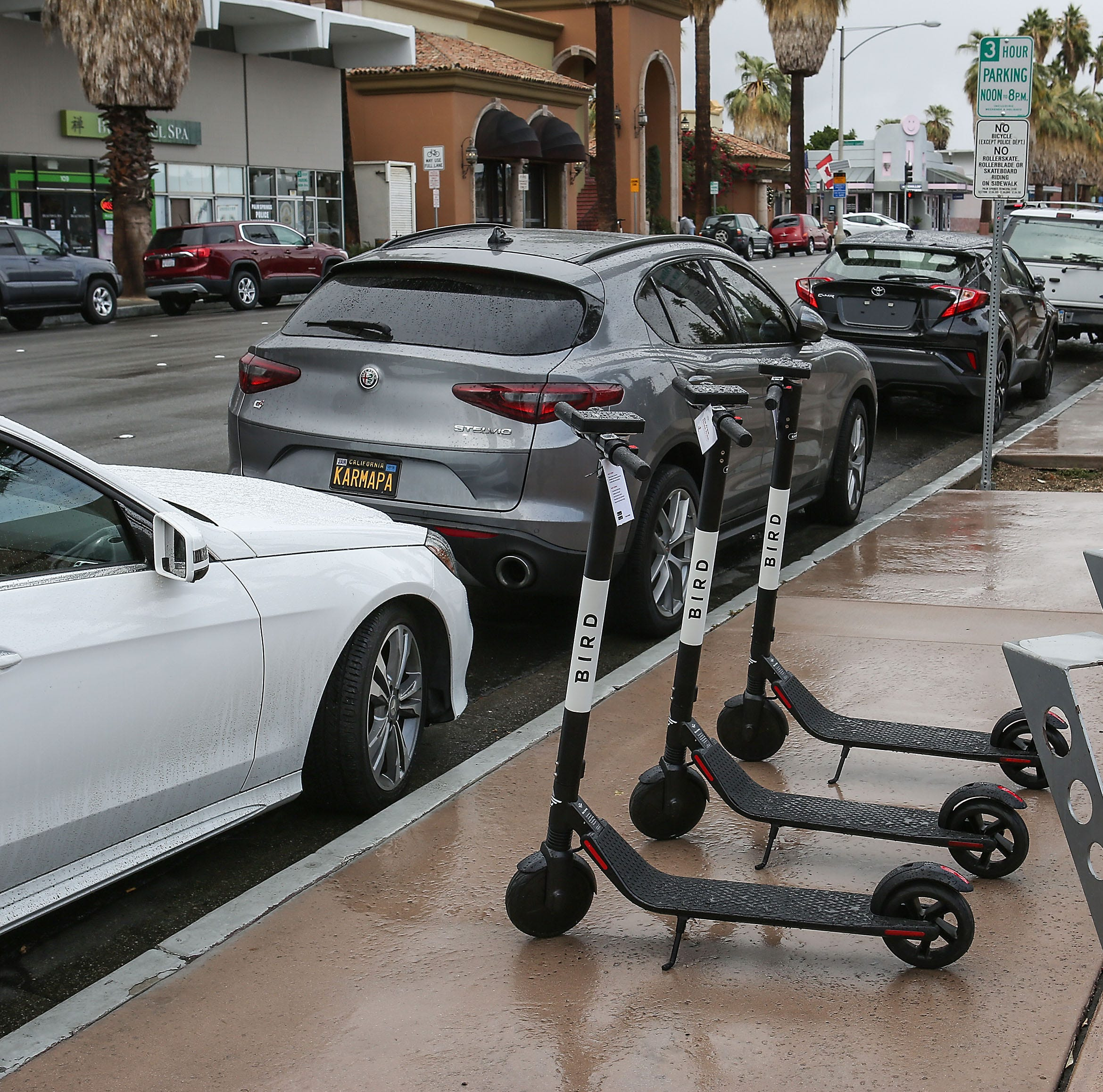 Wild ride: One scooter-share company rolls in, then out, of Palm Springs. Another is waiting in wings