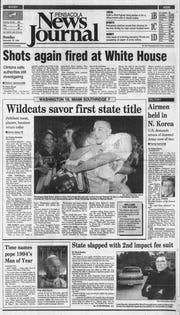 1994: Booker T. Washington defeats Miami Southridge, 16-7, for Class 6A title.