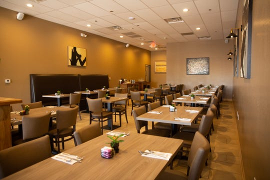 The dining room at Amuse Bouche