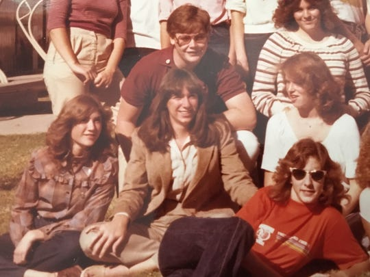 At 16, Karina Bland (center) was willing to risk getting grounded to see her rock-and-roll crush, Mick Jagger of The Rolling Stones.