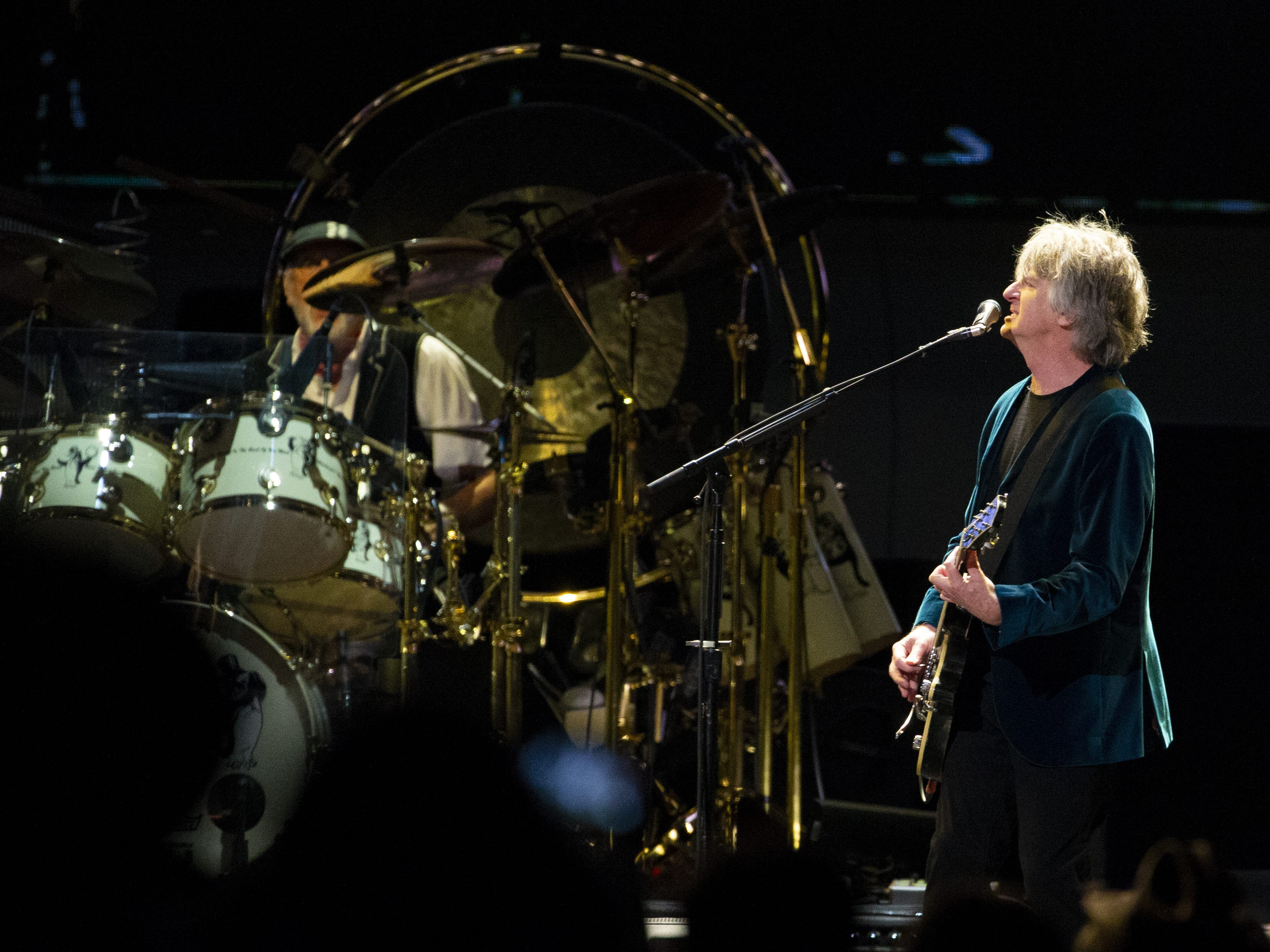Neil Finn of Fleetwood Mac performs at Talking Stick Resort Arena in Phoenix on November 28, 2018.