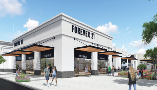 Peoria's Park West is getting five new tenants, including Forever 21, and a $4 million facelift.