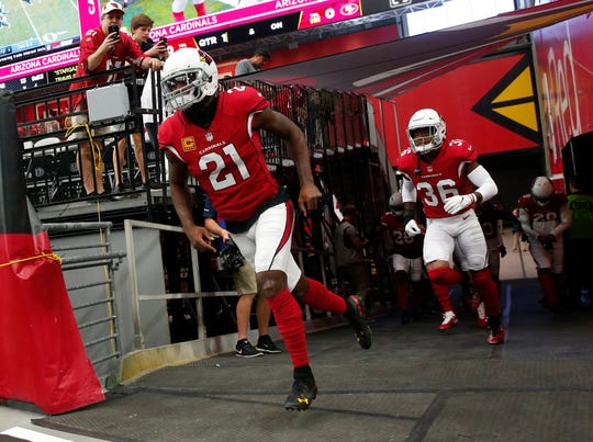 Arizona Cardinals cornerback Patrick Peterson.