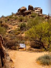 The Jane Rau Trail is a short, barrier-free loop that meets accessibility standards and pays homage to one of the people responsible for founding the McDowell Sonoran Preserve.