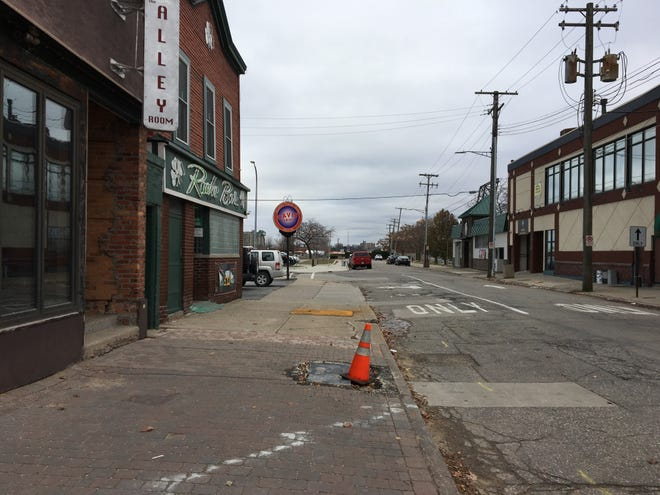 Quay and Michigan streets in downtown Port Huron are slated for a multi-stage reconstruction in 2019. The project will include sidewalks, including leveling areas to be more accessible where officials said patrons had to navigate steps to enter businesses.