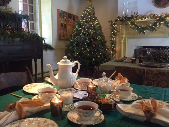 Mount Gulian Historic Site, Beacon, will have its Children's Holiday Tea Dec. 27.