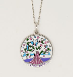 Astor Services for Children & Families and With You Lockets have partnered to launch a jewelry collection of pendants featuring designs based on drawings by children in Astor's therapeutic Expressive Arts Program. Items will be displayed Dec. 7 during the annual holiday festival and fundraiser.