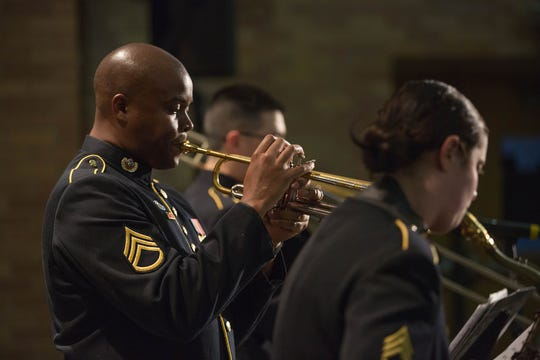 The U.S. Army Field Band Jazz Ambassadors come to the Eichelberger Performing Arts Center on Dec. 13.