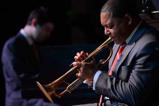 The Jazz at Lincoln Center Orchestra with Wynton Marsalis performs Dec. 16 at the Strand Theatre.