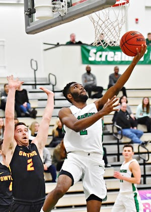 York College's Jason Bady is averaging 17.6 points, 7.5 rebounds, 3.0 assists, 1.4 steals and 1.4 blocks per game, while shooting 54.9 percent from the field, 38.1 percent from 3-point range and 80.2 percent from the foul line.