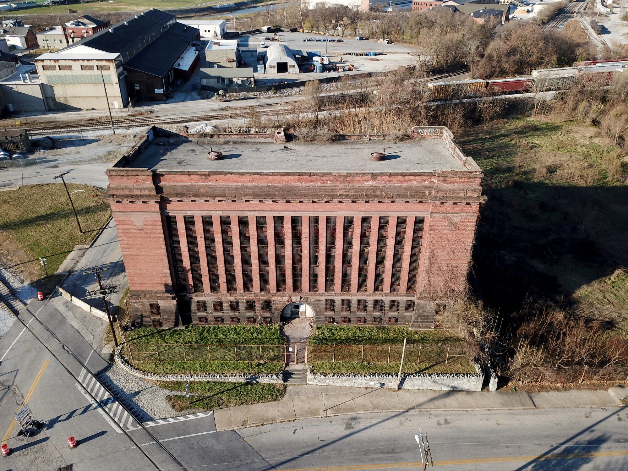 The former York County Prison on Chestnut Street in York City. United Fiber and Data has purchased the building and plans to incorporate the structure into a data center to accompany a 400-mile fiber-optic network it's building between New York and Virginia.  Thursday, November 29, 2018.  John A. Pavoncello photo