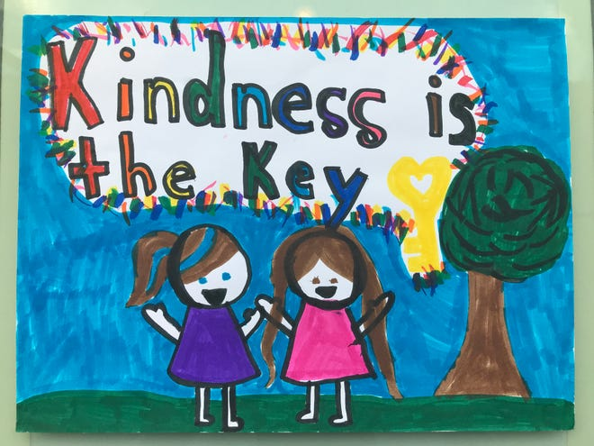 Earlier this fall 1,000 students from York County created art entries for the Kids Kindness Poster Competition. The competition was part of 10,000 Acts of Kindness, a project in York that celebrates unity.