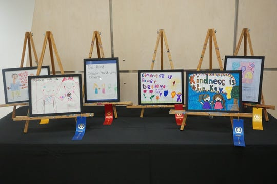 Earlier this fall 1,000 students from York County created art entries for the Kids Kindness Poster Competition. The competition was part of 10,000 Acts of Kindness, a project in York that celebrates unity.  The pieces are now part of an art exhibition at Marketview Arts. The exhibit will be on display until Dec. 3, with an artist reception on Sat., Dec. 1 from 2 to 4 p.m.