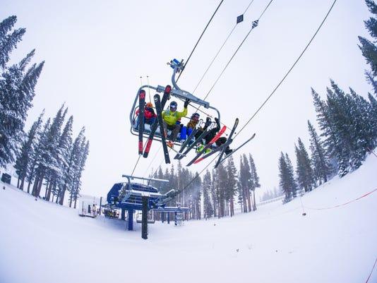 Mt. Rose skiing