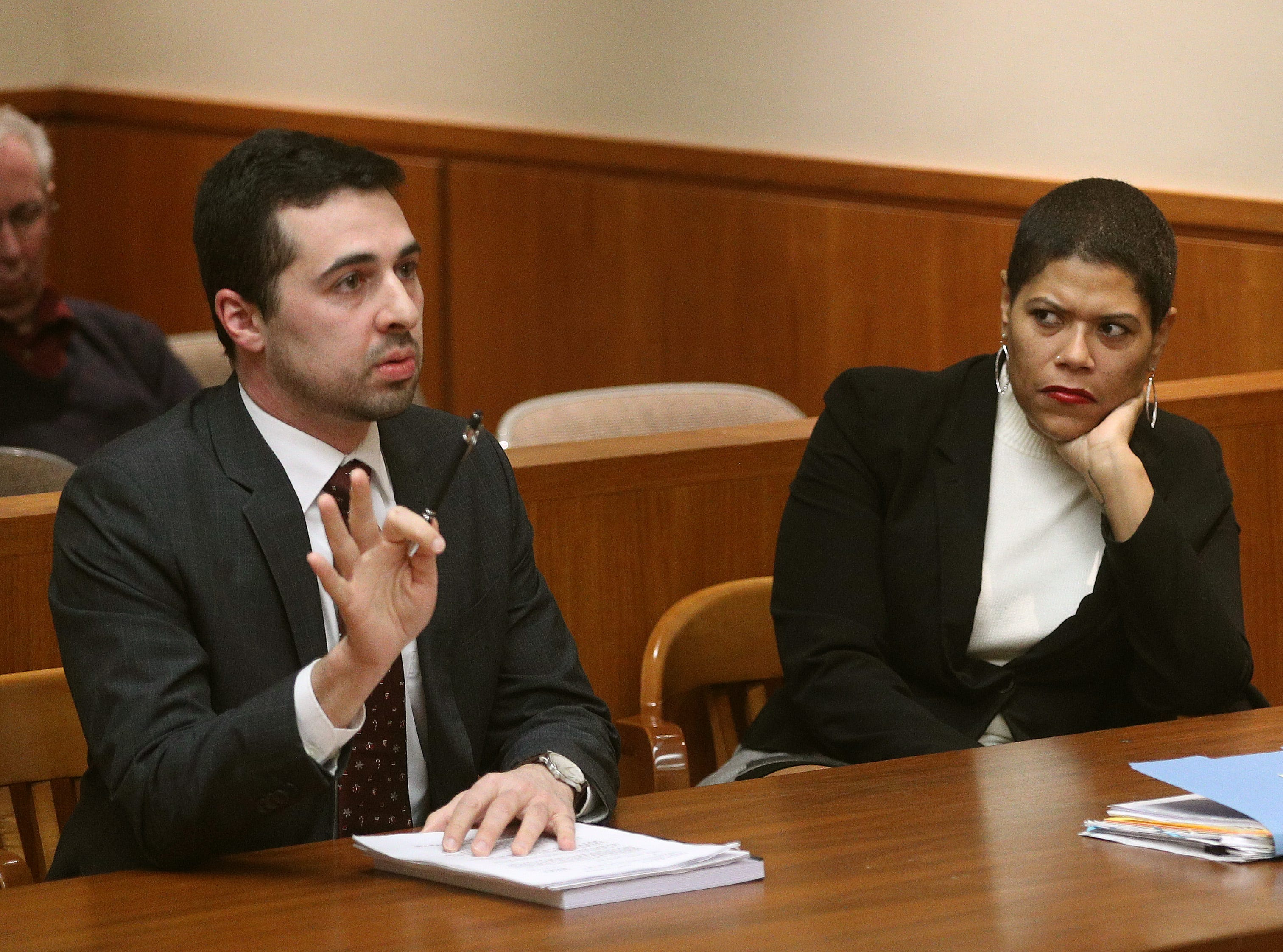 Lawyers for former judge Leticia Astacio argue gun charge against her should be dropped