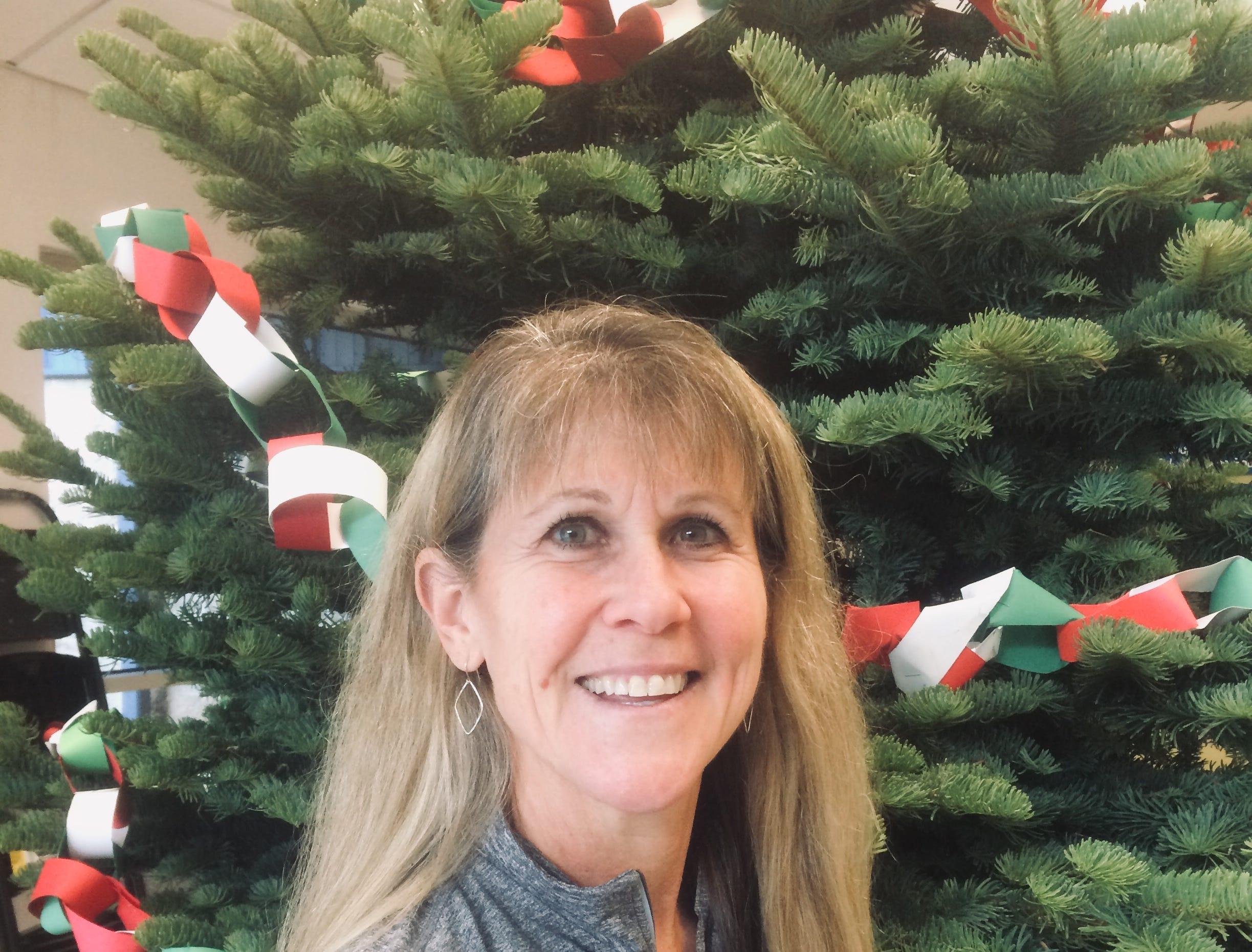 Blanchet coach Tina Pearson