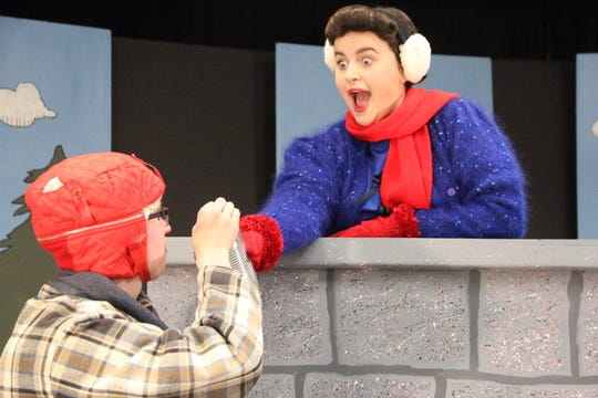 """S.K.I.T. Theatre performs two Christmas plays in each performance — the classic """"Charlie Brown Christmas"""" followed byMrs.Bradley and the kids trying to put on the annual Christmas Pageant with unwanted assistance."""