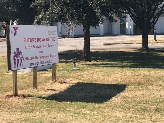 Future home YMCA's Little Explorer Pre-School and Childcare Development Center at 2833 College Hills Blvd., Wednesday, Nov. 28, 2018.