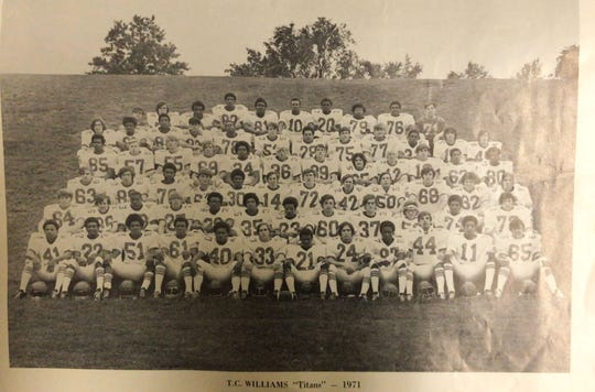"""The original T.C. Williams High School football team that was portrayed in the movie """"Remember the Titans."""""""