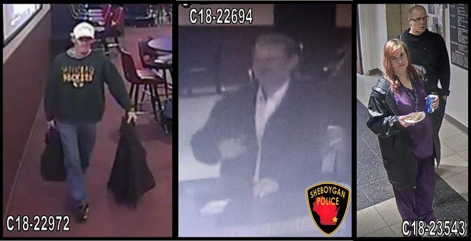 Sheboygan Police are asking for the public's help in identifying these people, who were involved in several coin machines thefts throughout the city.