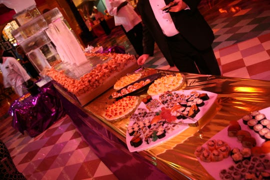 Food and drinks will flow at Christmas in the Sky: Broadway on Dec. 8.