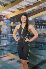 Loyola swimmer Katherine Bush