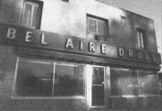 Bel-Aire Drugs was a longstanding fixture at 26th Street and Cliff Avenue.