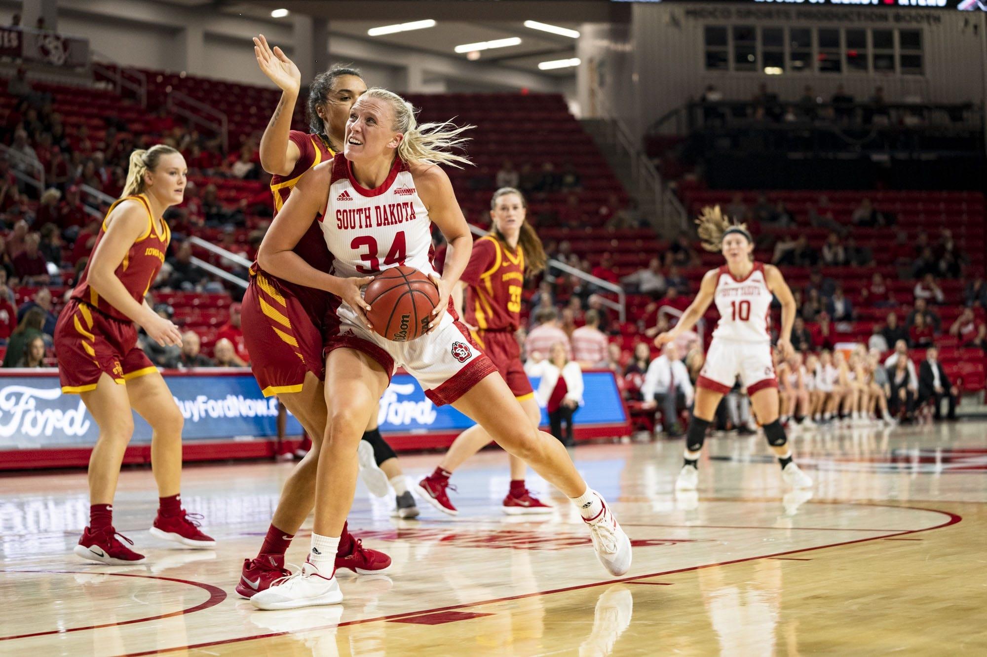 Upset special: South Dakota women's basketball
