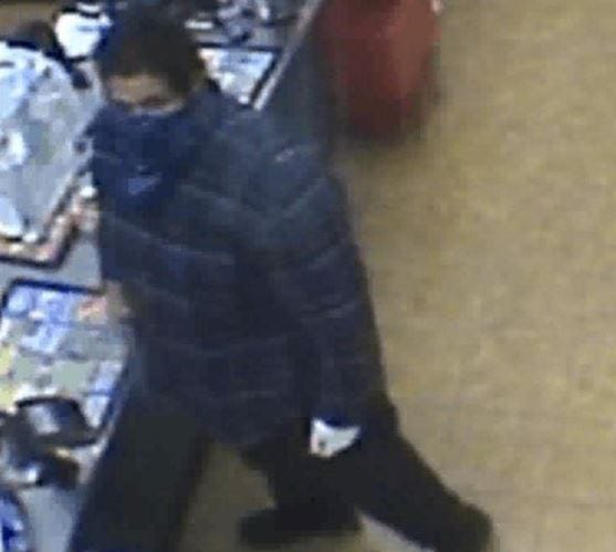 Rapid City police are looking for a suspect in the armed robbery of a convenience store on Nov. 21, 2018.