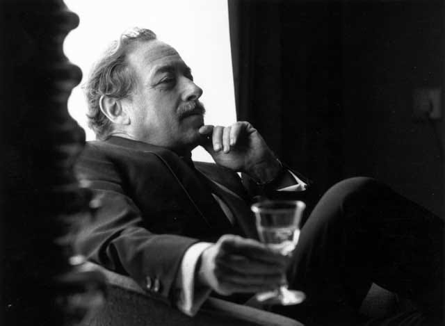 Playwright Tennessee Williams loved a strong drink and the South.
