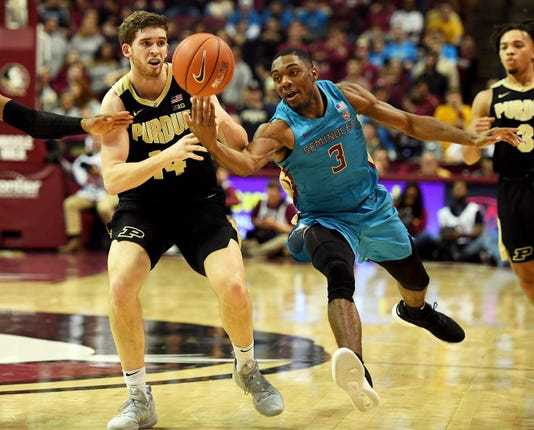 Ncaa Basketball Purdue At Florida State