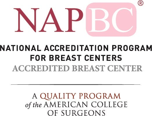 A breast center that achieves NAPBC accreditation has demonstrated a firm commitment to offer its patients every significant advantage in their battle against breast disease.