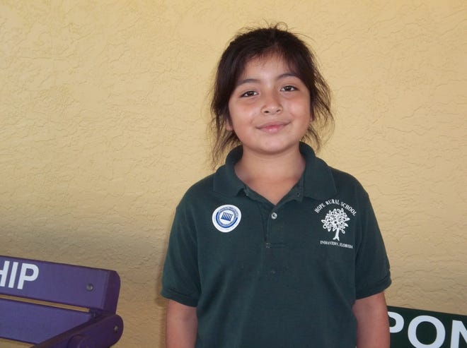 Lissette Rodriguez is CHARACTER COUNTS! Student of the Week for Dec. 5