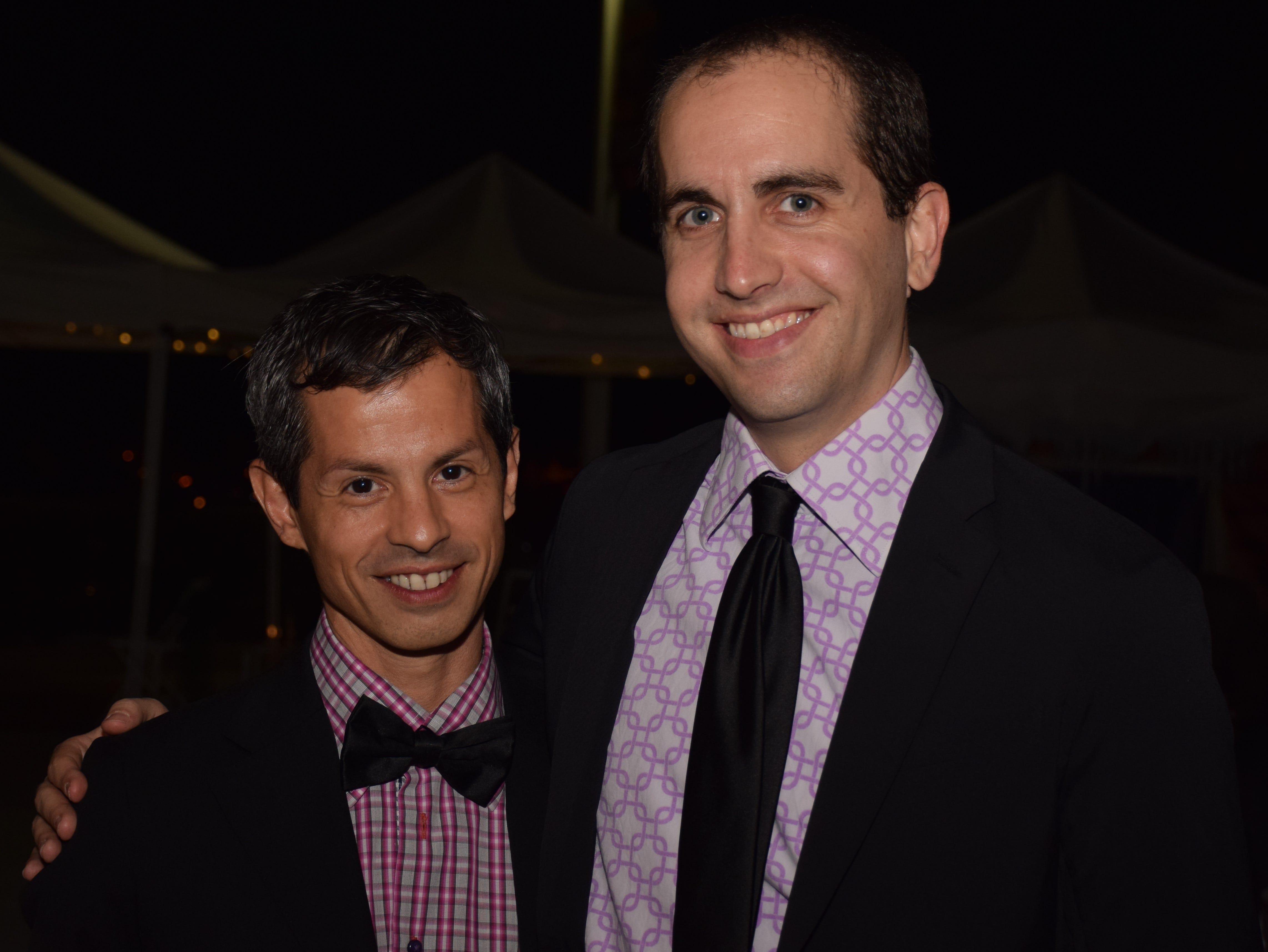 Camillo Rodriguez and Adam Schnell