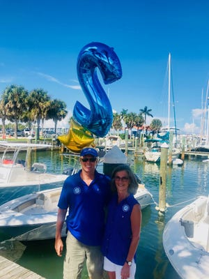 Freedom Boat Club of Fort Pierce owners Don and Ann Spaeth are celebrating two years in Fort Pierce.