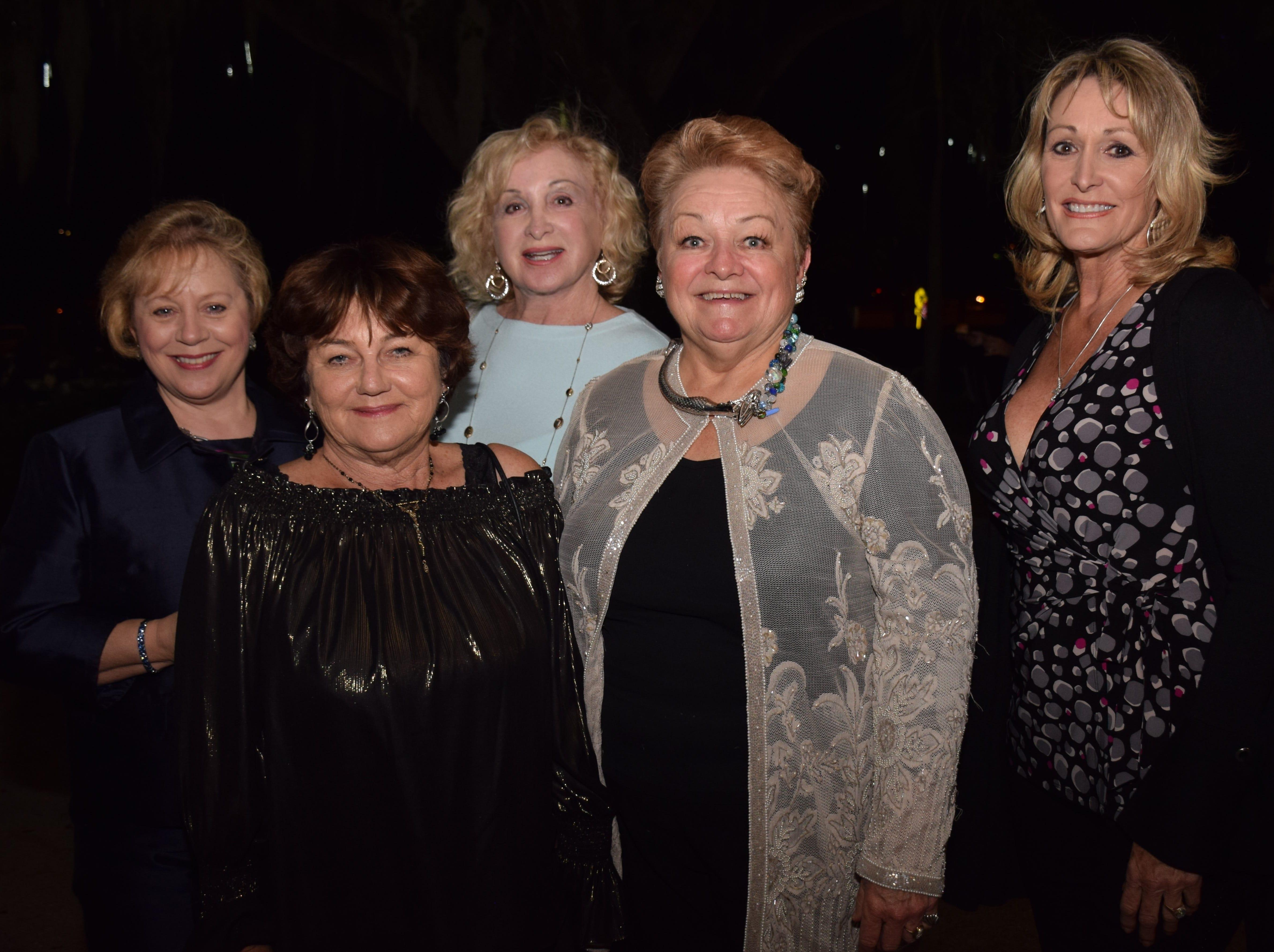 Julie Archer, Diane Collins Marilyn Burton, Ruth Ann Holt and Lisa Green