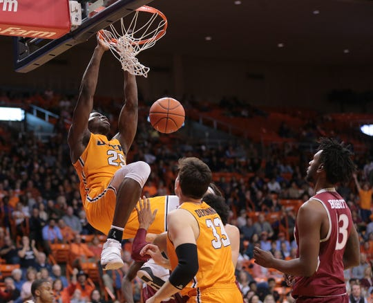 The UTEP Miners came close but lost to NMSU on Nov. 28, 2018, at the Don Haskins Center. The final score was 62-58.