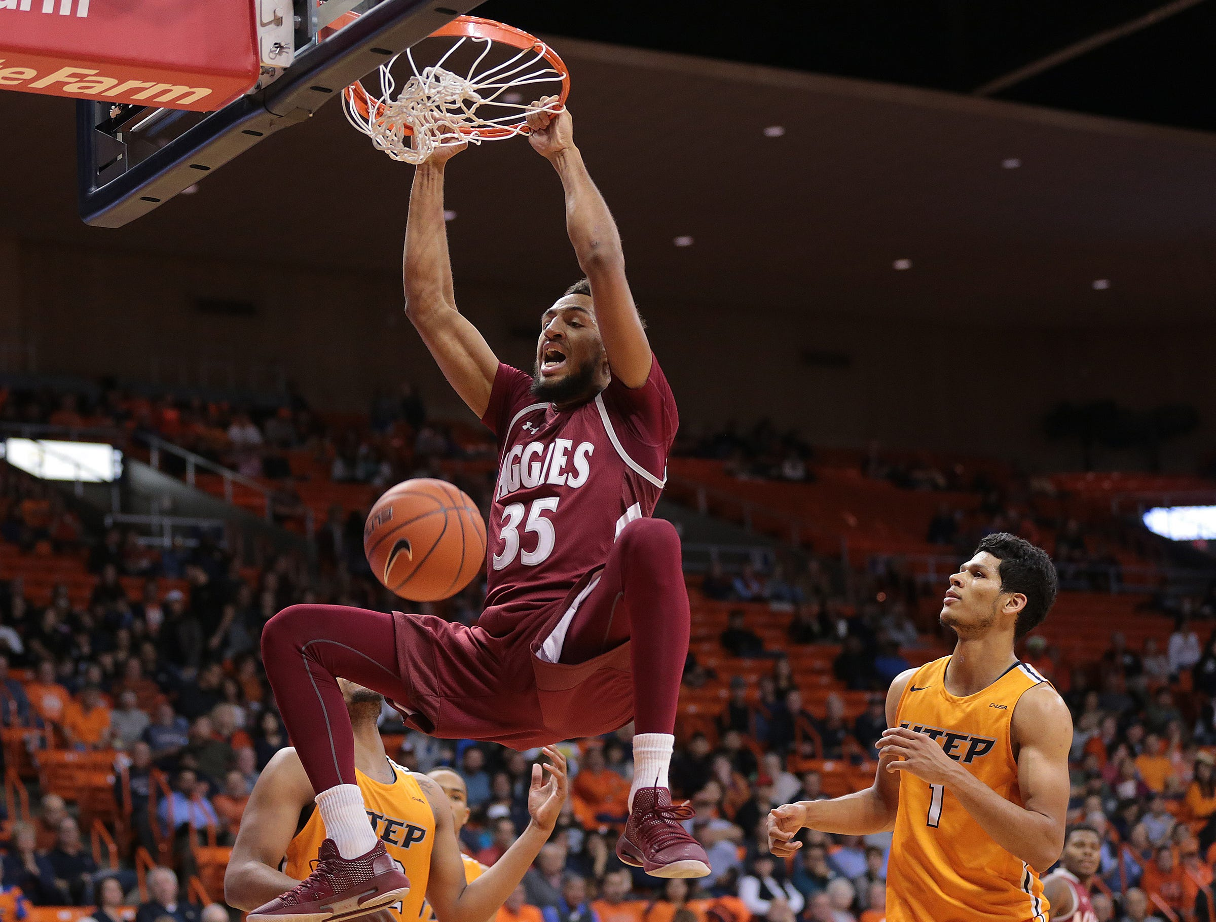 UTEP battled NMSU on Wednesday night at the Don Haskins Center. NMSU held on to win the game 62-58.
