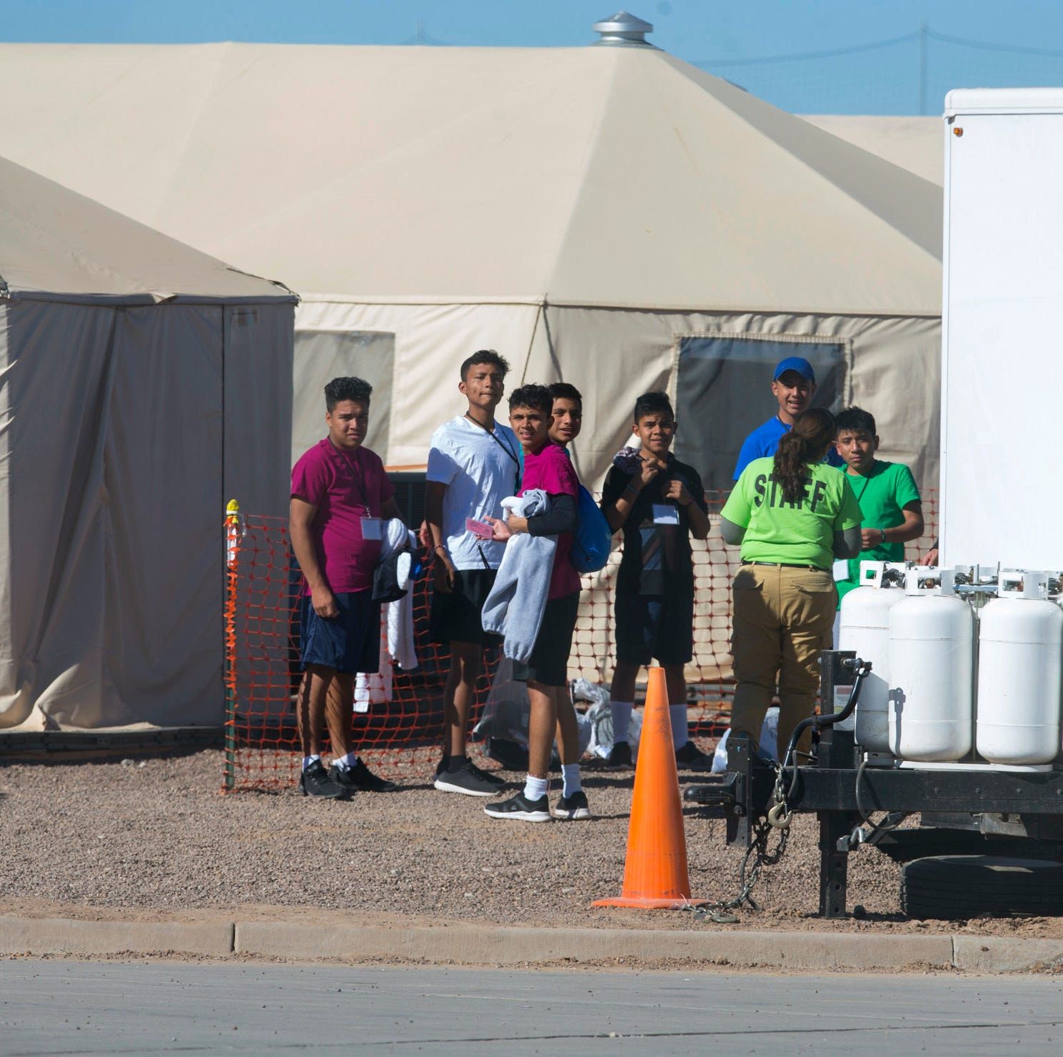 US military to build tent city in Tornillo for migrants held by ICE