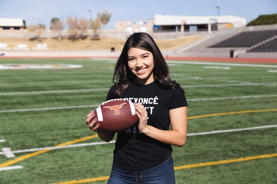 UTEP communications student Jordan Alarcon is vying for a $100,000 in a Dr. Pepper football tossing competition.