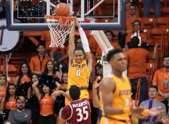 UTEP battled NMSU Wednesday night at the Don Haskins Center. NMSU held on to win the game 62-58.