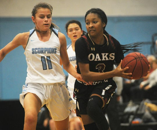 Camarillo freshman Gabriela Jaquez, left, and Oaks Christian junior Taylor Donaldson have been two of the top area players this season.